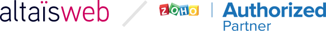 Altaïsweb, partenaire certifié Zoho à Orléans pour la France